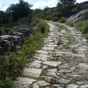 Up the Byzantine Trail to Lefkes