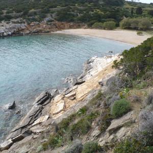 View of Trypiti beach