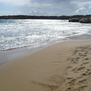 Farangas beach in springtime