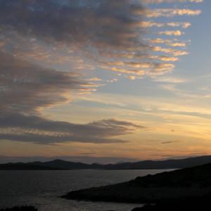 Sunset at Farangas on the southern tip of Paros