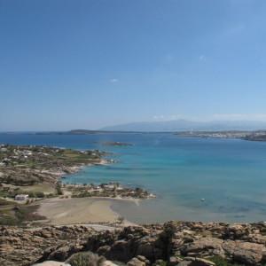 NE view from Koukounaries hill