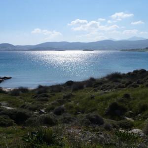 View to Naousa bay from Monastiri