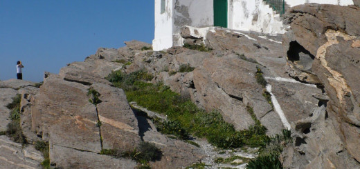 The lightouse at Cape Korakas