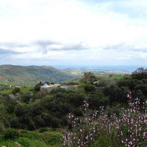 The valley of Agios Ioannis Kaparos close to Lefkes