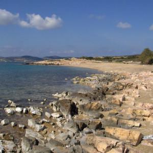 Along the way to Voutakos beach