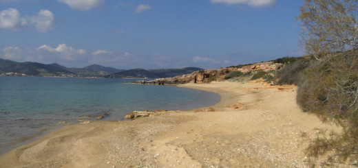Voutakos beach view