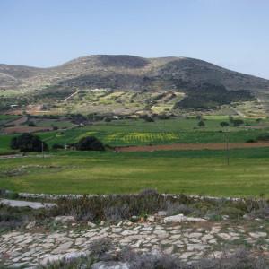 Marathi valley from the Byzantine Way, Paros