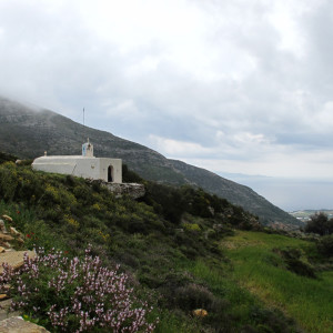 The chapel of Aghios Nikolaos in Langada