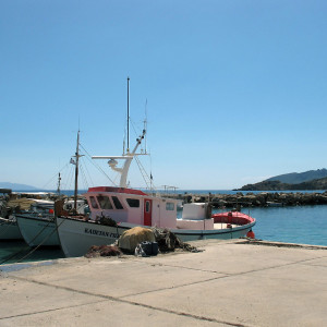 The little port at Ambelas, Paros