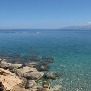 Turquoise waters, Ambelas, Paros
