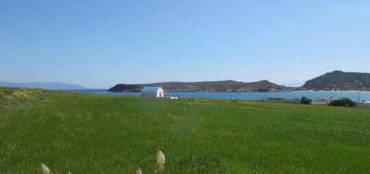 The way to Molos beach, Paros, springtime