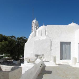 Aghios Antonios monastery on Kefalos Hill, Marpissa, Paros