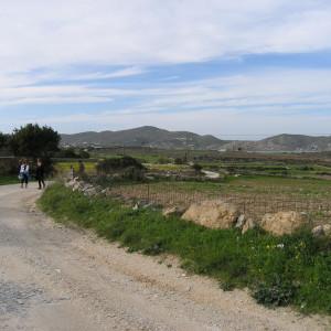 After St. Nektarios chapel, Naoussa area