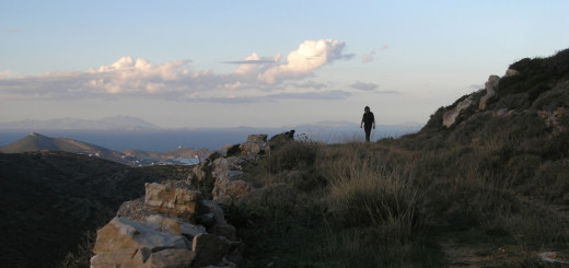North view on Raches hill, north of Kostos village