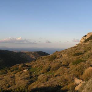 North view from Profitis Ilias chapel, north of Kostos village