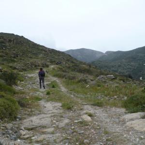 Up the hills off Kakapetra, Paros