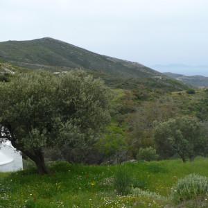 Mt. Peristeri from Panagia chapel, Paros island