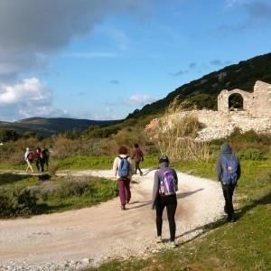 At the ancient quarries, Paros island