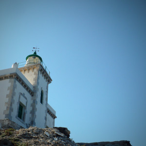 The Cape Korakas lighthouse, Paros island