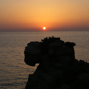 Sunset at Paros Environmental Park, Paros