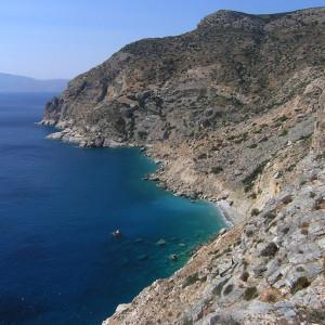 The cliffs of Merichas and 'Ftero tou Mericha', Iraklia