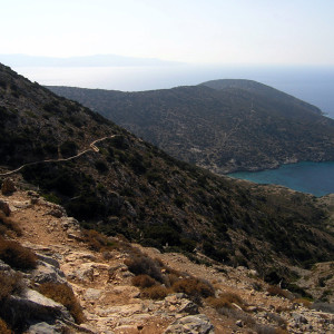 En route to Aghios Ioannis cave, Iraklia