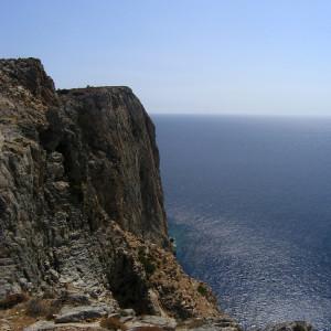 South coast cliffs, Iraklia