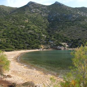 Megala Monastiria beach, Antiparos island