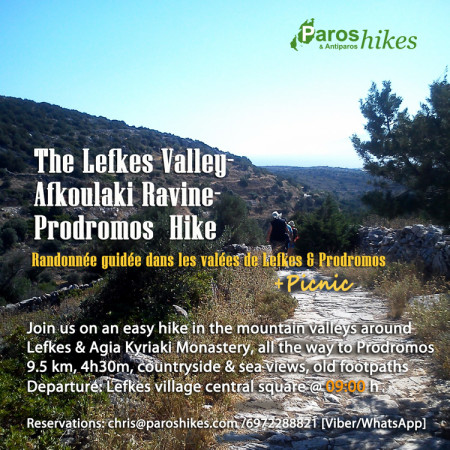 Lefkes Valley-Prodromos Hike