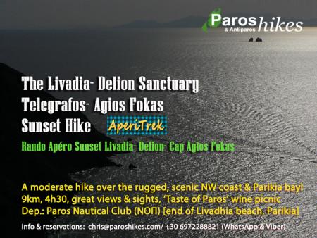 Livadhia-AghiosFokas-Telegrafos-Delion Sunset Hike