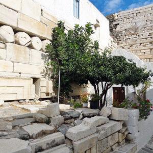 Ancient marble Venetian castle, Parian Marble Tour, Parikia