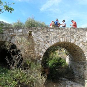 Walking along the Byzantine Way, Parian Herbs, Cheese & Wine Tour, Paros island, Cyclades, Greece.