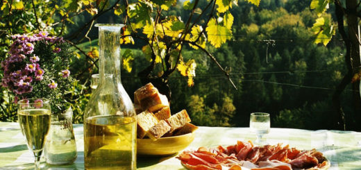 Wine & souma tasting with snack on the, Parian Herbs, Cheese & Wine Tour, Paros island, Cyclades, Greece .