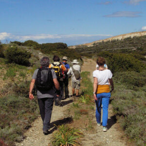 Walking in Marathi ancient marble quarries with Paros Hikes